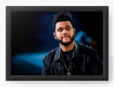 Quadro Decorativo The Weeknd