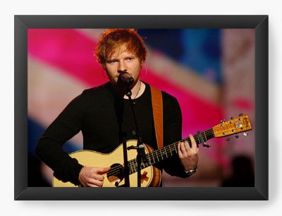 Quadro Decorativo Ed Sheeran