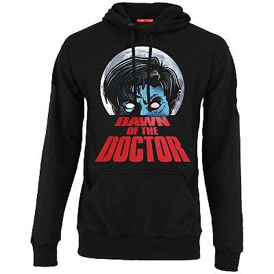 Blusa com Capuz Dawn Of The Doctor