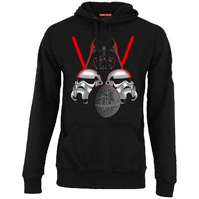 Blusa com Capuz Star Wars - Darth Vader