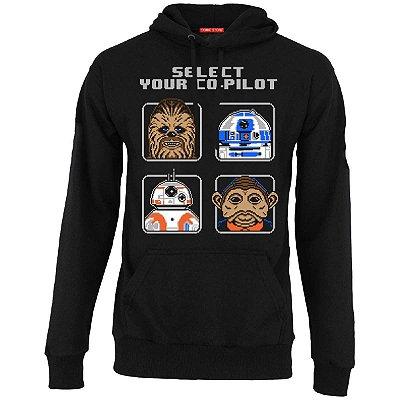 Blusa com Capuz Select Pilot - BB-8