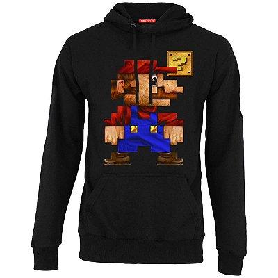 Blusa com Capuz Super Mario Word