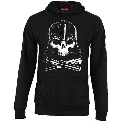 Blusa com Capuz Star Wars - Darth Vader Skull