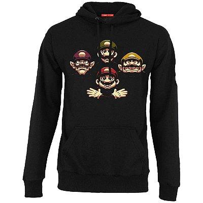 Blusa com Capuz Super Mario e Luigi
