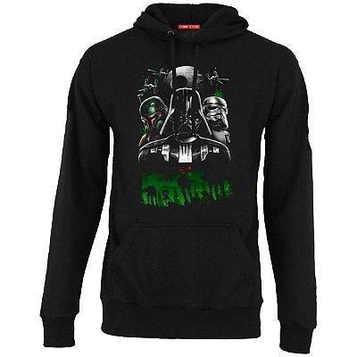 Blusa com Capuz Star Wars - Boba e Stormtrooper