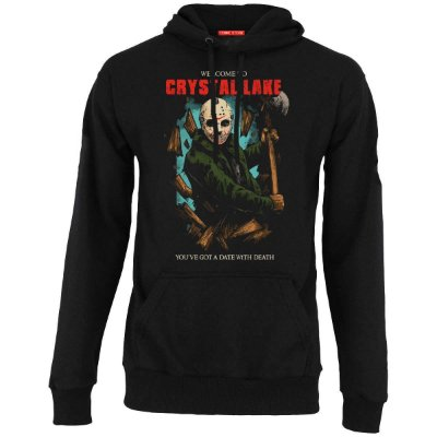 Blusa com Capuz  Jason Crystal Lake