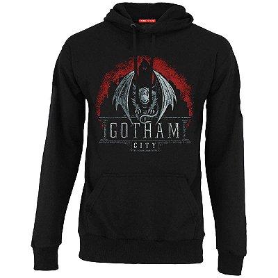 Blusa com Capuz Gotham City