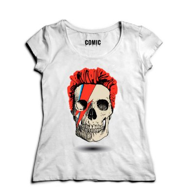 Camiseta Feminina Skull Style