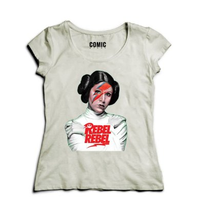 Camiseta Feminina Princesa Leia