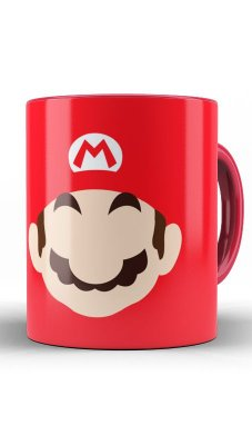 Caneca Super Mario Word - Game