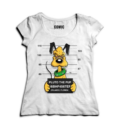 Camiseta Feminina Pluto The Pup