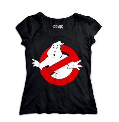 Camiseta Feminina Caças Fantasmas