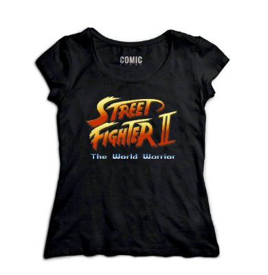 Camiseta Feminina Street Fighter