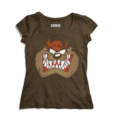 Camiseta Feminina Taz - Looney Tunes
