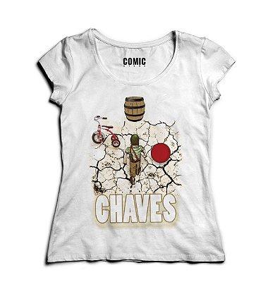 Camiseta Feminina Chaves