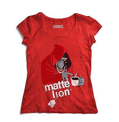 Camiseta Feminina Thundercats Matte Lion