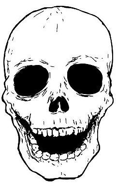 Camiseta Skull Happy