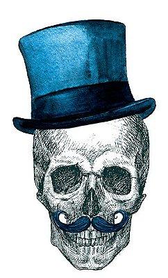 Camiseta Skull Chapeleiro