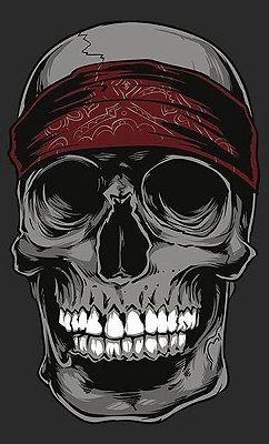 Camiseta Skull Band