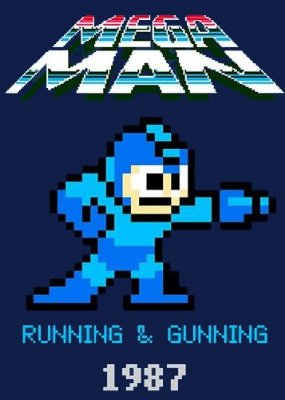 Camiseta Mega Man