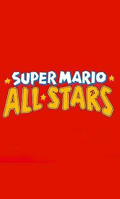 Camiseta Super Mario - All Star