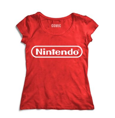 Camiseta Feminina Nintendo