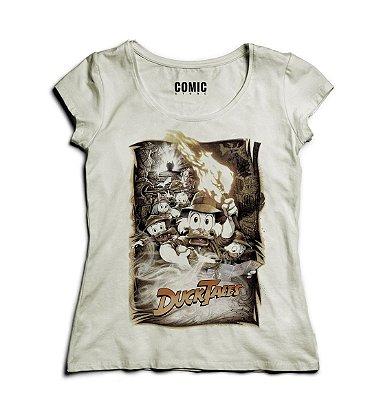 Camiseta Feminina DuckTales - Os Caçadores de Aventuras