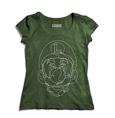 Camiseta Feminina Luigi