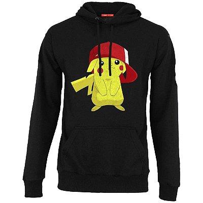 Blusa com Capuz Pikachu