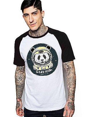 Camiseta Raglan King33 Urso Astronauta