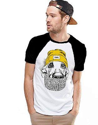 Camiseta Raglan King33 Dog Gringo
