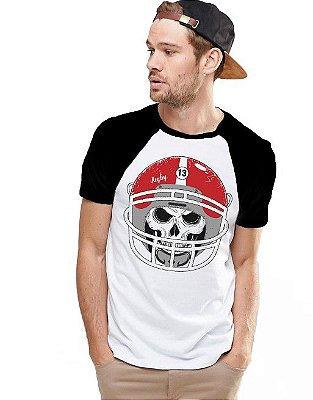 Camiseta Raglan King33 Skull Player