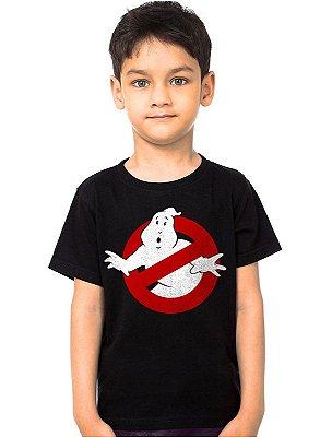 Camiseta Infantil Caça-Fantasmas