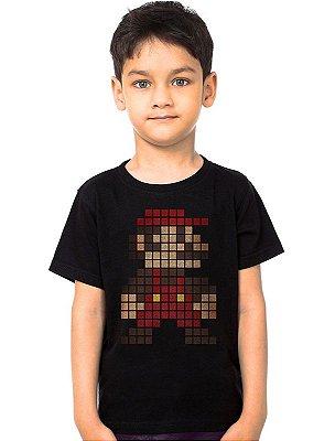 Camiseta Infantil Super Mario
