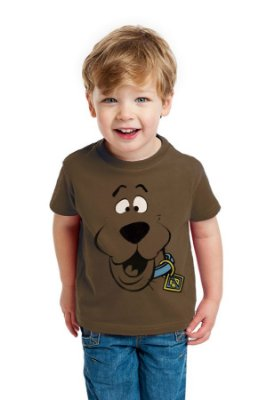 Camiseta Infantil Scooby Doo