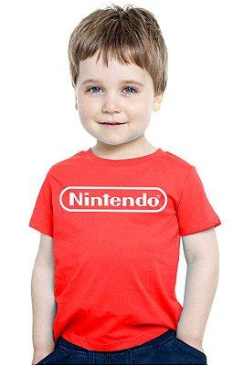 Camiseta Infantil Nintendo