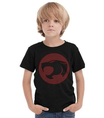 Camiseta Infantil Pantera - Thundercats