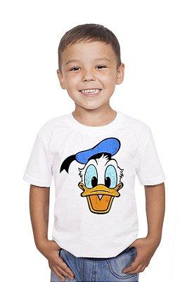 Camiseta Infantil Pato Donald