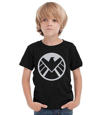 Camiseta Infantil Agentes da S.H.I.E.L.D.