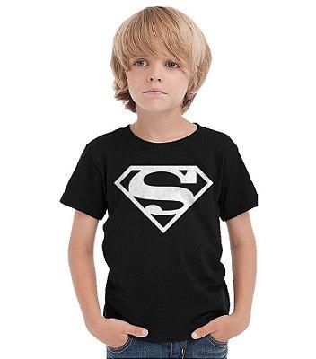 Camiseta Infantil Super Man