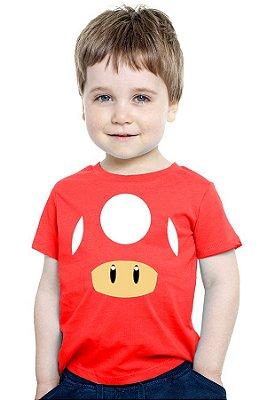 Camiseta Infantil Toad