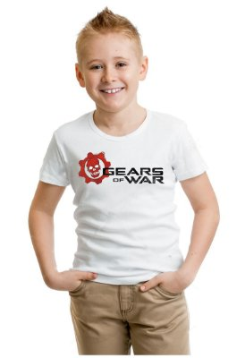 Camiseta Infantil Gears of War