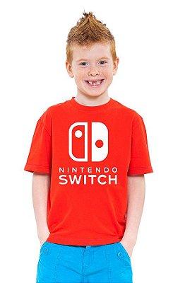 Camiseta Infantil Nintendo Switch