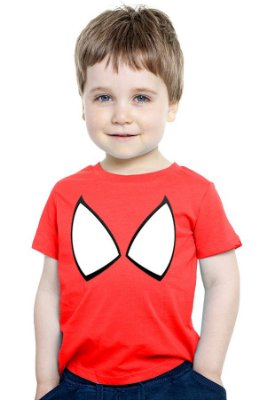 Camiseta Infantil Homem Aranha