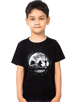 Camiseta Infantil Sonic, Mario e Crash Bandicoot - Hakuna matata
