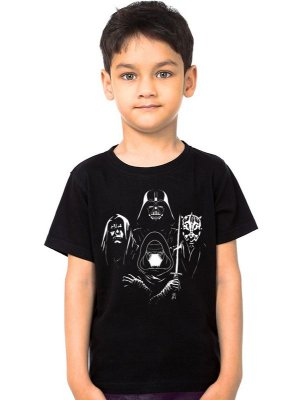 Camiseta Infantil Star Wars Darkness