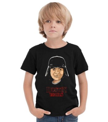 Camiseta Infantil Stranger Things - Dustin Wars