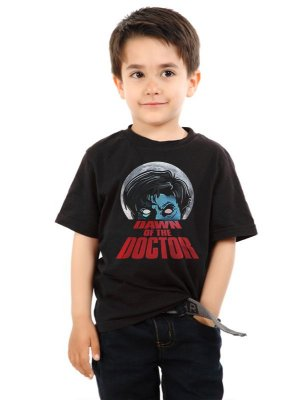 Camiseta Infantil Dawn of the Doctor