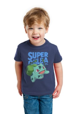 Camiseta Infantil Super Bulba Bros