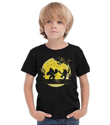 Camiseta Infantil Donkey Kong